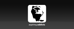 Logotype Aspiring Addicts |