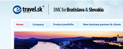 E-travel.sk | DMC pro Bratislavu a Slovensko