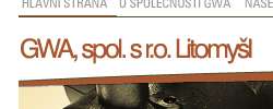 GWA.cz | Obchodní společnost. Web, správa