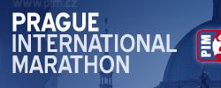 Pražský mezinárodní maraton 2009 | Maratonský běh v České republice. Grafický návrh, nerealizováno