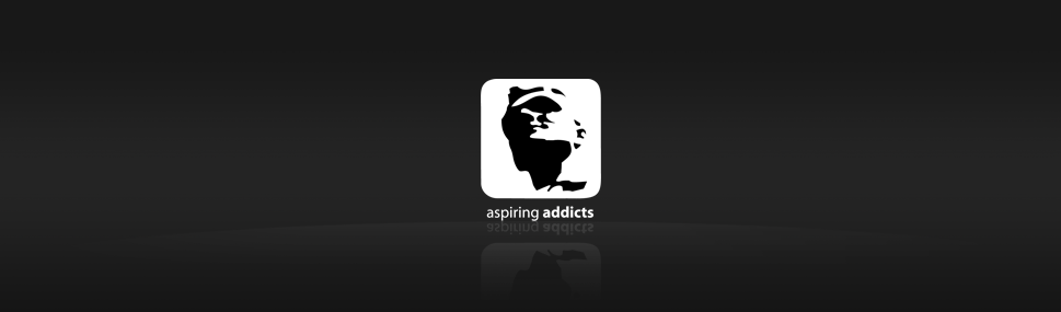 Logotype Aspiring Addicts Logotype for virtual wear company