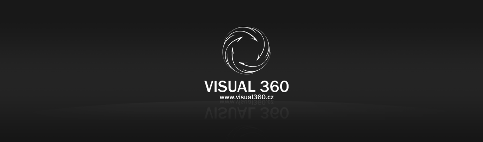Logotype Visual360 Logotype for 3D visualization company